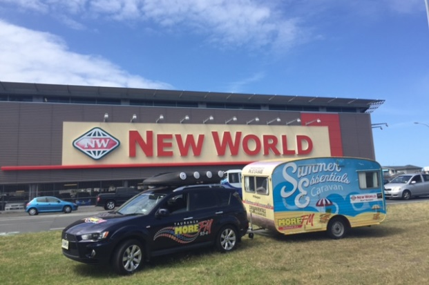 The MORE FM Mount New World Summer Essentials Caravan
