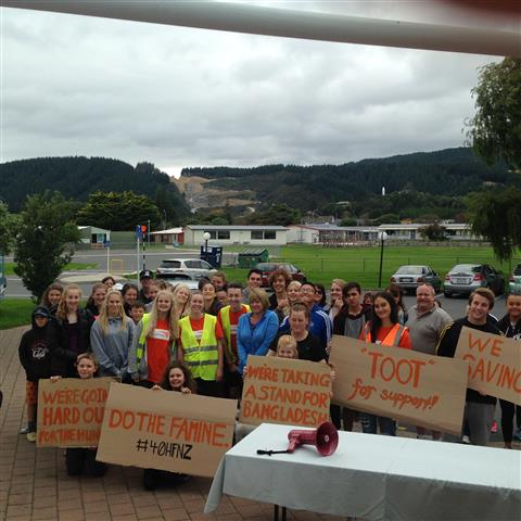 Kapiti College Walk For Water