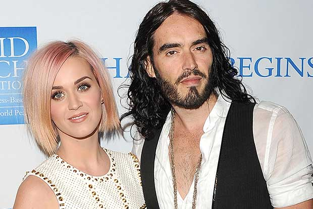 """Russell Brand calls ex-wife Katy Perry """"vapid, vacuous, plastic"""""""