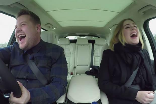 Adele and James Corden have the best Carpool Karaoke