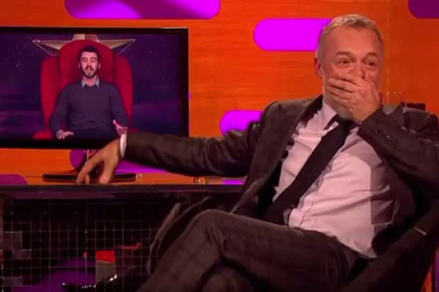 """Kiwi shares his """"deathly"""" experience on Graham Norton's Red Chair"""