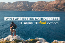 Win 1 of 4 Better Dating Prizes thanks to findsomeone.co.nz
