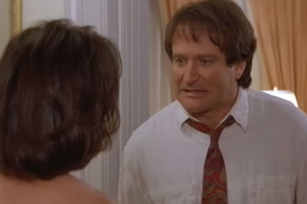 Rare deleted footage from 'Mrs Doubtfire' shows the film's most heartbreaking scene