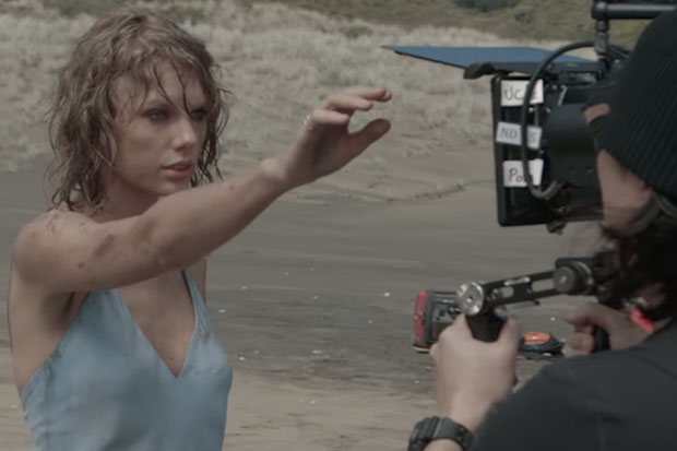 Taylor Swift talks about New Zealand in her behind-the-scenes 'Out of the Woods' video