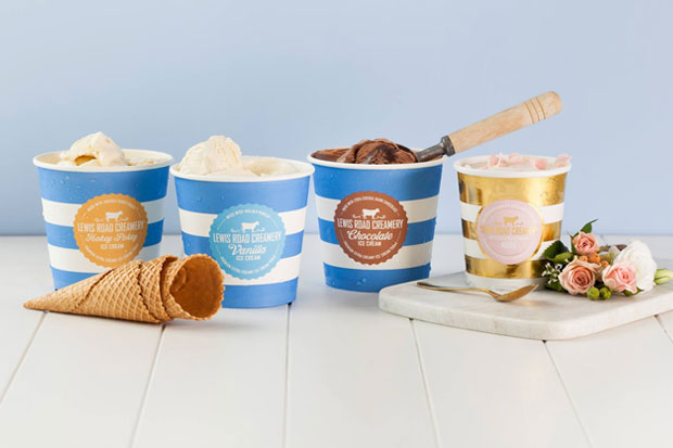 Lewis Road Creamery announce new ice cream range, with special 'rose' flavour