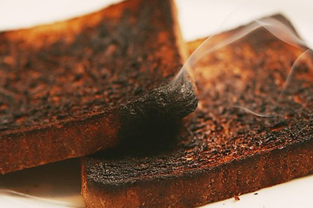 Why a Dad told his wife he loved her burnt toast