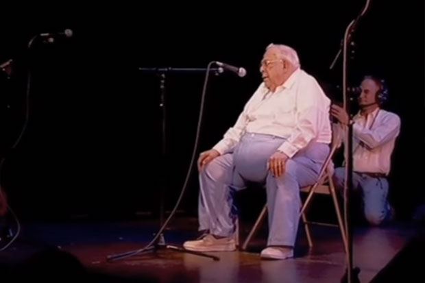 84 year old man performs emotional version of Coldplay's 'Fix You'