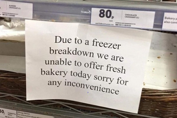 Hilarious pictures of some of the most ironic moments ever
