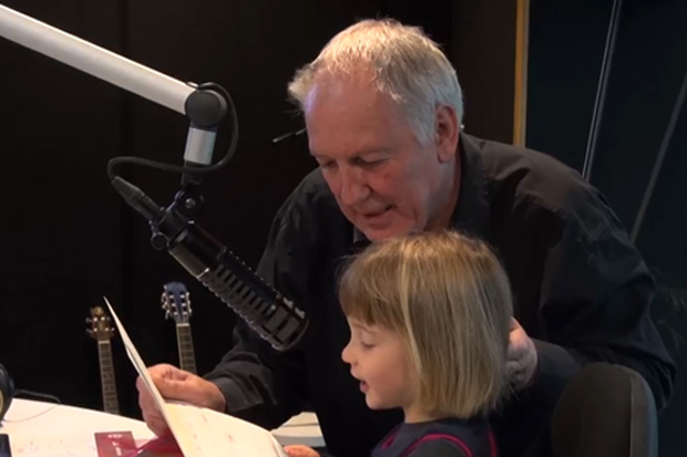 Si & Gary: Gary's daughters give him an adorable Birthday surprise!
