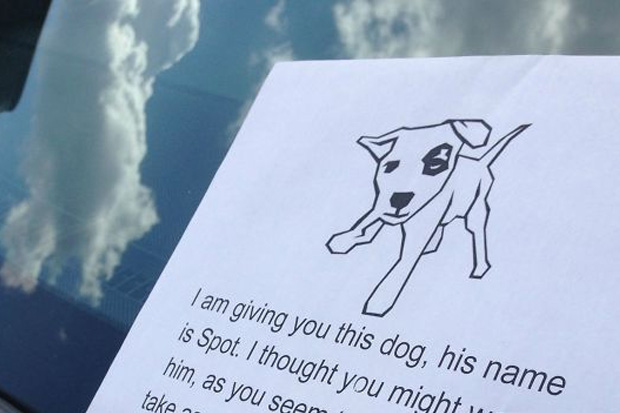 Anonymous person is fighting terrible parking with this hilarious note