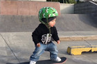 This 2 year-old skater is on his way to becoming a world champ!