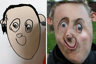 Dad recreates his son's drawings to look more realistic