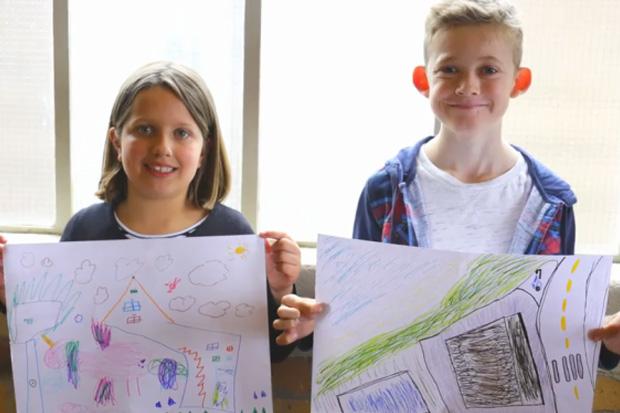 Kiwi Kids show off their Grand Designs