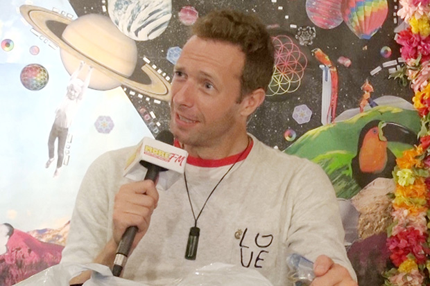 Lana & Jase: Coldplay list all the items they wanted banned from their gigs