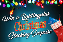 Win with the Lighting plus Christmas Stocking Surprise