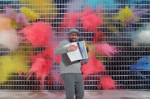 OK Go film their 'The One Moment' music video in just 4.2 seconds