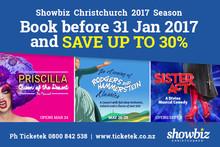 WIN with Showbiz Christchurch's 2017 Season Launch!