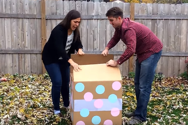 Surprise 'Gender Reveal' party backfires on parents