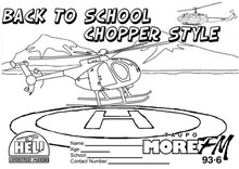 Back to School Chopper Style 2017