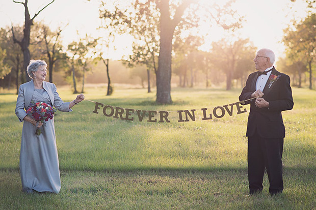 Couple finally get their wedding photos 70 years later