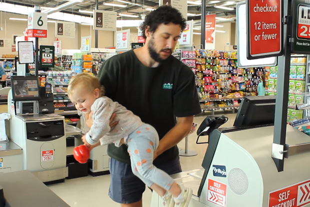 The best way to take your kids grocery shopping according to How To Dad