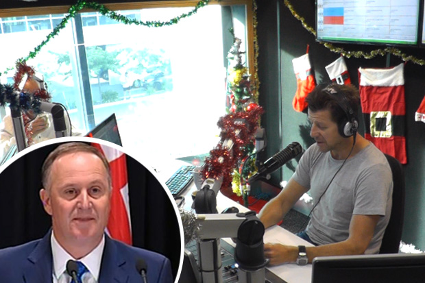 Si & Gary: Si claims to know the real reason behind John Key's exit thanks to a txt from the PM