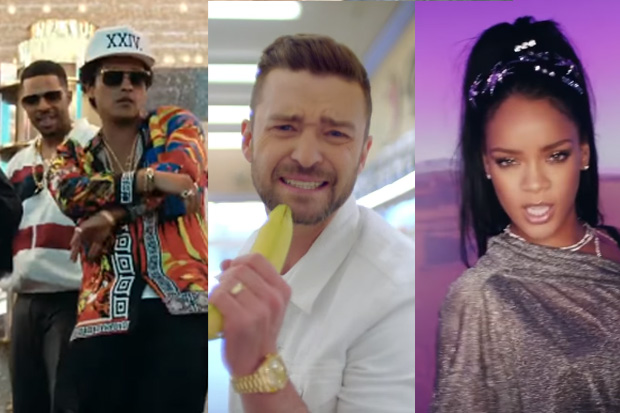 Hear all the biggest hits of this year mashed into one huge song