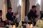 Brother's 13-year-old best man gives the perfect wedding speech