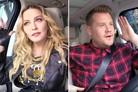 Madonna brings back 'Vogue' in James Corden's Carpool Karaoke