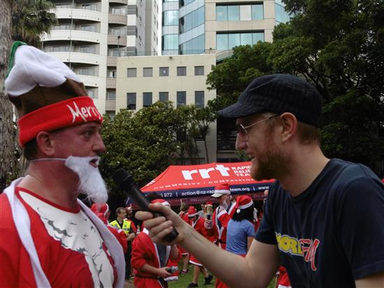 The Great Kidscan Santa Run - Auckland City