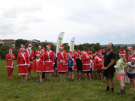 The Great Kidscan Santa Run - Te Atatu
