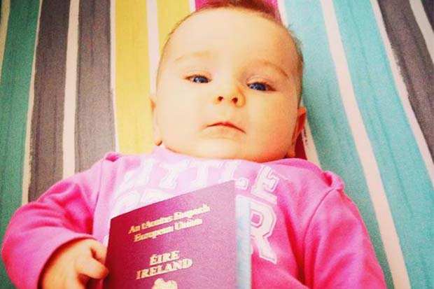 Mum uses maternity leave to travel the world with her newborn