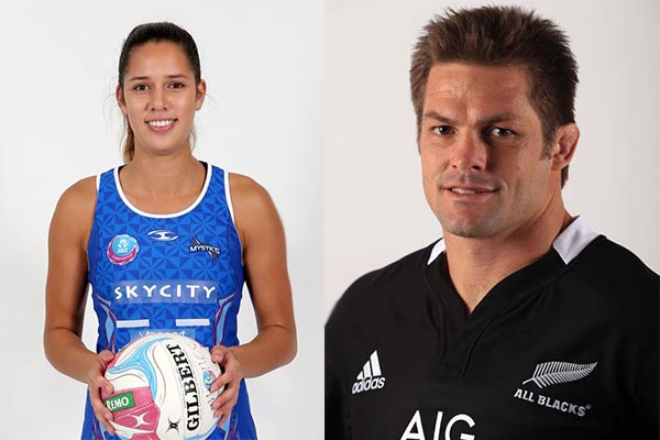 Richie McCaw & Kayla Cullen to get covered in slime