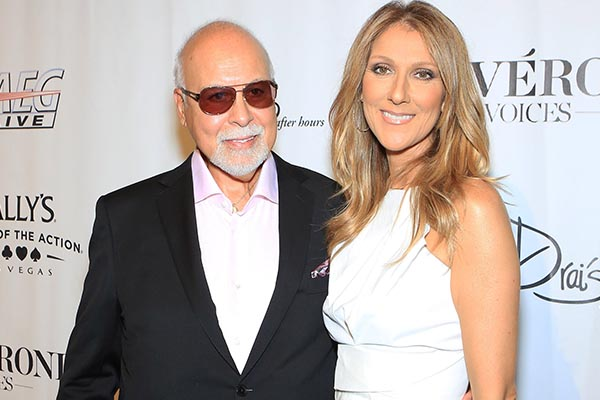 Celine Dion speaks publicly for first time since husband's death