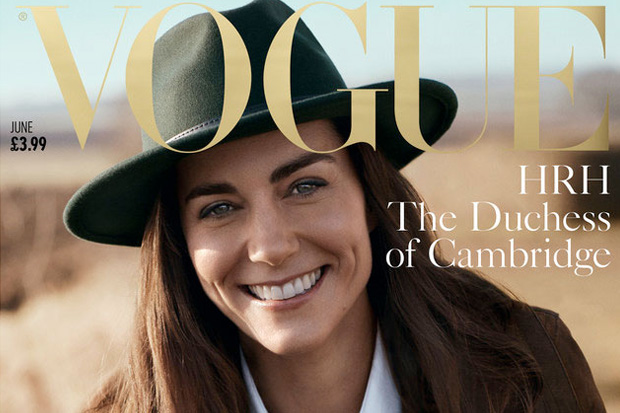 The Duchess of Cambridge stars in her first ever cover photo shoot