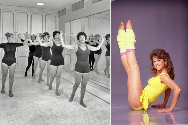 Watch how exercise trends have changed over the past 100 years