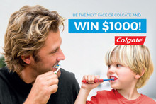 Win $1000 and the chance to be in Colgate's next TV ad!