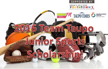 2016 Team Taupo Junior Sports Scholarship