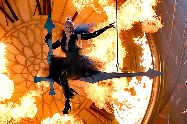 Pink sets the stage on fire with 'Just Like Fire' performance at Billboard Music Awards