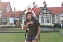 Kiwi dad shows you how to travel with a baby
