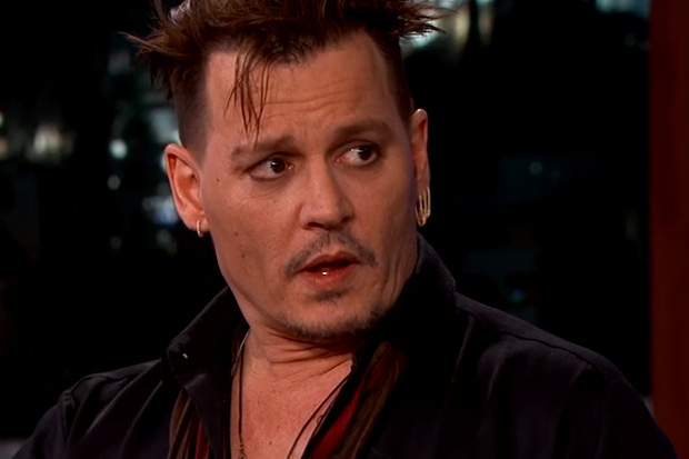 Johnny Depp makes fun of his Australian apology video
