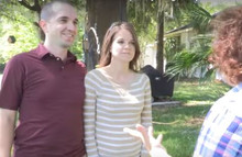 Couple create hilarious movie trailer to announce their pregnancy