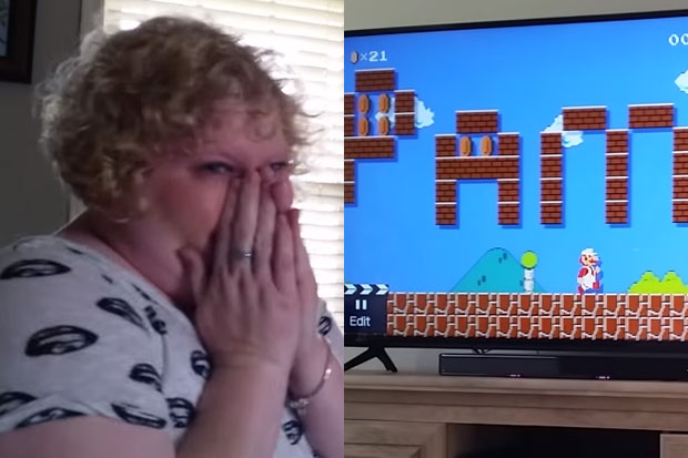 Man proposes to his girlfriend with specially made video game
