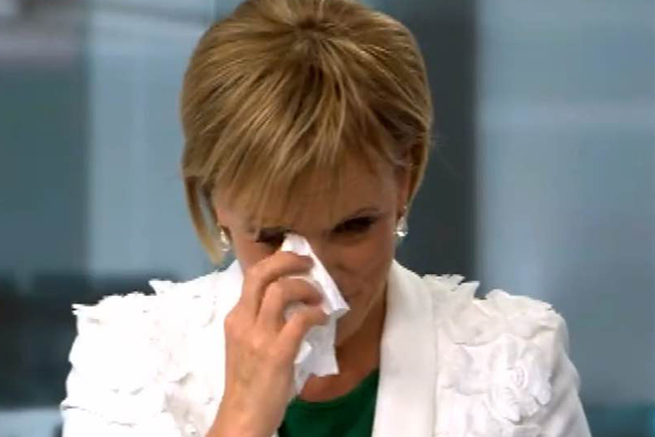WATCH: Hilary Barry's tearful last sign-off on Newshub