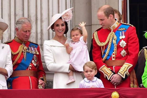 Princess Charlotte steals the show at Queen's 90th Birthday Celebration