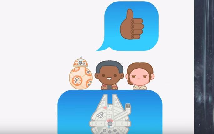 Star Wars: The Force Awakens get a Disney Emoji remake