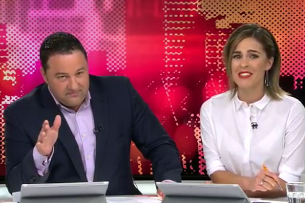 Watch the live nude shot that surprised TV3's Story presenters