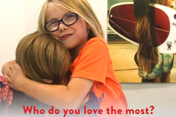 What do Kiwi kids know about love?