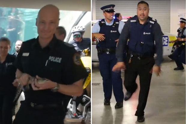 Northern Territory calls 'Game On' to NZ Police's #RunningManChallenge