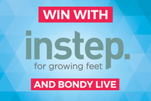 Win with In Step Footwear!